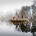 A Mysterious and Abandoned Fishing Village Outside of Budapest Captured in Perfect Reflection