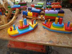 Juegos Didácticos En Madera - Bs. 3.500,00 en Mercado Libre