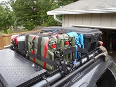 Drop-in Roof Rack: Surf and Snow's version with integrated lock box - Second Generation Nissan Xterra Forums (2005+)