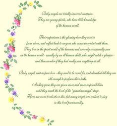 Baby Angel Poem