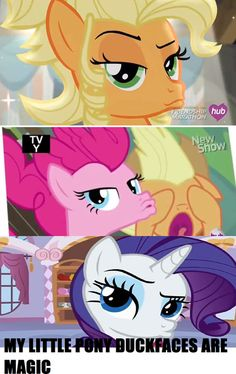 So many duck faces!!!!! #MLP