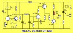 """a transformer) increasing the supply to a higher voltage to illuminate one or two LEDs in series. The """"LED Basic Electronic Circuits, Electronic Circuit Projects, Electronic Schematics, Electrical Projects, Electronic Engineering, Arduino Projects, Simple Electronics, Electronics Basics, Electronics Components"""