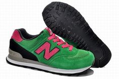 Joes New Balance US574HPK Sneakers Made In USA Grass Green Pink Mens Shoes