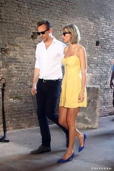 Pin for Later: Taylor Swift and Tom Hiddleston Made Out on Top of the Colosseum in Rome