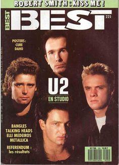 U2 -Magazine Best -n°225 -Avril 1987