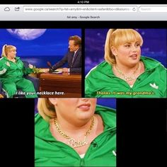 Lol. Gotta love Rebel Wilson.