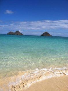Where my special friend Dori lives...Lanikai Beach, Hawaii February 2012