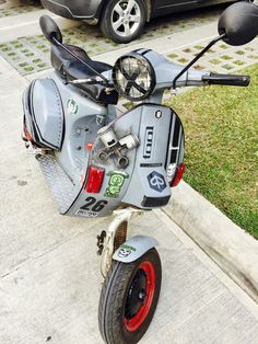 Scooters asian motor