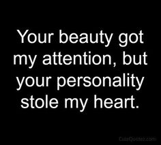 I love this one!  Says it all so simply but is so  true! This is why it could only be you!  I don't just fall for anyone.....but meeting you at the time I did......the perfect blend of personality and beauty......you stole my heart!  - Chris B.