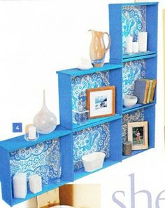 cool shelving with drawers
