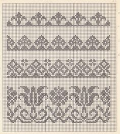 1 million+ Stunning Free Images to Use Anywhere Cross Stitch Boarders, Cross Stitch Flowers, Cross Stitch Designs, Cross Stitching, Cross Stitch Embroidery, Cross Stitch Patterns, Embroidery Patterns, Fair Isle Knitting Patterns, Knitting Charts