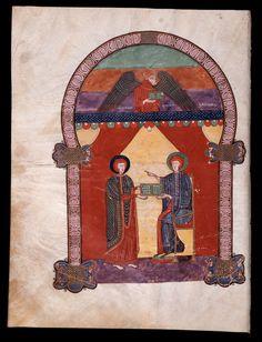 Beato de Liébana: códice de Fernando I y Dña. Sancha — (18) Evangelio de Lucas