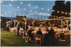 Dining under the stars at Farmstead in St. Helena - one of the best wedding venues in Napa Valley!