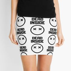 Dead Inside x _ x - Get yourself a funny custom desing from RIVEofficial Redbubble shop : )) .... tags: #dead  #inside #deadinside #depression  #funny #2020 #depressed  #party #humour #giftideas #socialevent  #design #humorous #cool #badass #shirtsonline #trends #riveofficial #favouriteshirts #art #style #design #nature #shopping #insidecollection #redbubble #digitalart #design #fashion #phonecases #access #customproducts #onlineshopping #accessories #shoponline #onlinestore #shoppingonline Dead Inside, Social Events, Depressed, Badass, Custom Design, Gym Shorts Womens, Mini Skirts, Trends, Tags