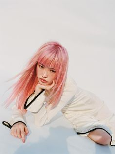 fernanda ly stars in fran stringer's first collection for pringle Photography Matteo Montanari