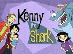 Kenny the shark. I used to watch this along with Tutenstein on saturday mornings. I think this was on right before Tut. I always wondered how a shark could survive outside of water.... but I guess that will be one of life's unsolved mysteries...