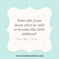 Some thoughts on kids and forgiveness #parenting