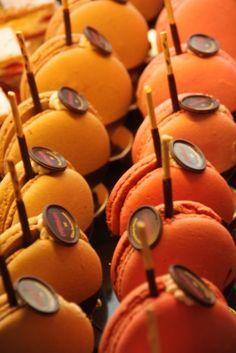 Orange macarons