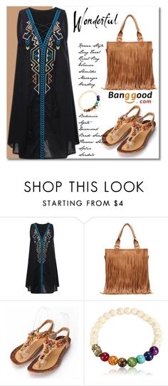 """""""Banggood 8"""" by adanes ❤ liked on Polyvore featuring BangGood and fashionset"""