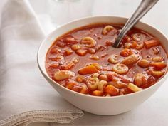 Get Giada De Laurentiis's Quick and Spicy Tomato Soup Recipe from Food Network