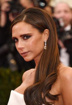 """Victoria Beckham attends the """"Charles James: Beyond Fashion"""" Costume Institute Gala at the Metropolitan Museum of Art on May 5, 2014 in New York City."""