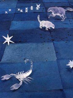 "Kiki Smith, ""Constellation,"" detail, 1996.  https://www.artexperiencenyc.com/social_login/?utm_source=pinterest_medium=pins_content=pinterest_pins_campaign=pinterest_initial"