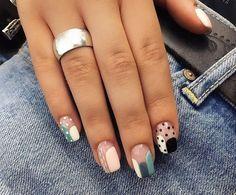 50 Most Amazing Ombre Nail Art Designs - Nail Designs - . - 50 Most Amazing Ombre Nail Art Designs - Nail Art Designs, Square Nail Designs, Short Nail Designs, Acrylic Nail Designs, Acrylic Nails, Nails Design, Cute Nails, Pretty Nails, My Nails