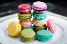 I have always wanted to try a macaron..if thats even how you spell it