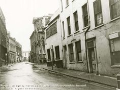 Weekday Cross and Fletcher Gate, Nottingham, 1971