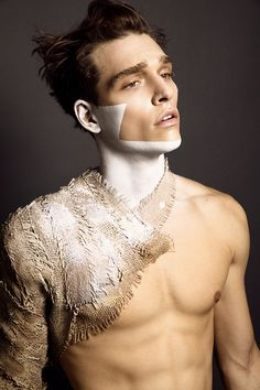 make-up for men.....and body paint https://www.youtube.com/channel/UCmfzvZD0Nc9MuuicMRuP1XA