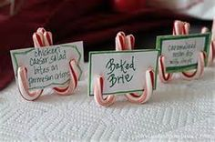 Place cards for your festive meal!