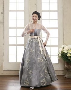 A modern Korean Hanbok