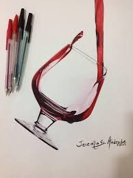 Resultado de imagem para denis arte com caneta esferografica
