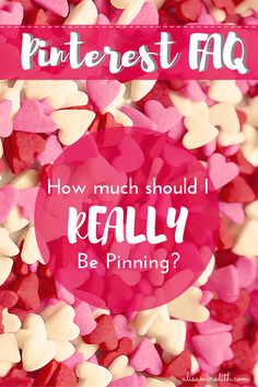 Pinterest FAQ: How Many Times Should I Pin Per Day? Should I be pinning 100 times or more? Isn't that the best way to increase my following? Step away from the crazy train and commit to responsible pinning with this very doable path to pinning success.