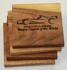 Indianapolis Indiana Racing Capital Of The World Coasters Best Gifts