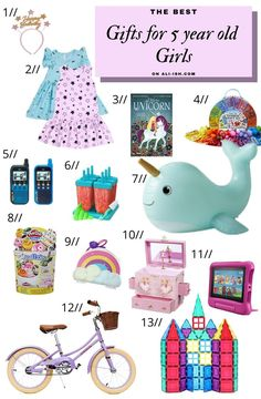 Best Birthday Gifts, Birthday Gifts For Girls, Friend Birthday, Girl Birthday, 3 Year Old Christmas Gifts, Kids Christmas, Kindle Fire Kids Edition, Stitch Fix Kids, Polly Pocket Dolls