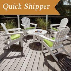 Adirondack Outdoor Furniture | Recycled Plastic and Wood Adirondack Furniture