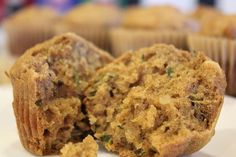 This Gluten Free Zucchini Bread Recipe is moist & delicious, and makes a perfect loaf or muffins. It's also Dairy Free and Refined Sugar Free!