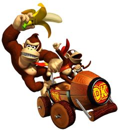 Donky Kong And Diddy Kong
