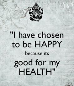 Too true! Happiness is healthiness! #quotes #health