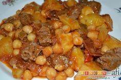 Spanish Kitchen, Chana Masala, Food And Drink, Tasty, Beef, Vegetables, Ethnic Recipes, Afi, Diabetes