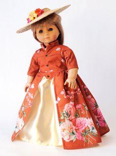 Outlander-Dressur-Kleid mit Hut und Packtaschen für von CARPATINA