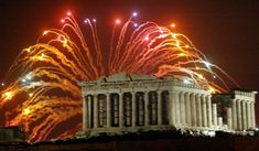 Celebrating New Years Eve 2014 in Athens