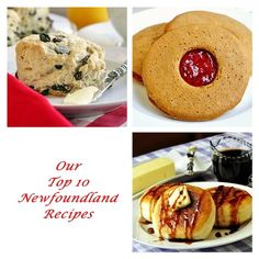 Top Ten Newfoundland Recipes - Rock Recipes -The Best Food & Photos from my St. Canadian Food, Canadian Recipes, Scottish Recipes, Yummy Treats, Yummy Food, Delicious Recipes, Newfoundland Recipes, Rock Recipes, Along The Way
