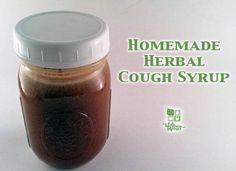 Herbal cough syrup is a natural homemade alternative to conventional cough syrup. It contains herbs that help soothe the throat and promote restful sleep.