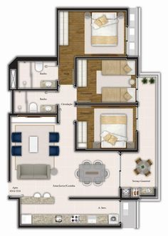Home Layout Design, Dream Home Design, Home Design Plans, House Design, Contemporary House Plans, Modern House Plans, Dream House Plans, House Floor Plans, Circle House