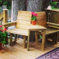 Beautiful Deck Design Ideas Outdoor Chairs, Outdoor Furniture Sets, Outdoor Decor, Deck Design, Bench, Design Ideas, House, Beautiful, Home Decor