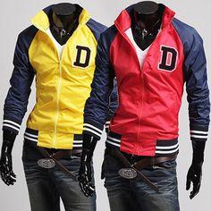 Mens Trendy Sport School Windbreaker Jacket | Sneak Outfitters