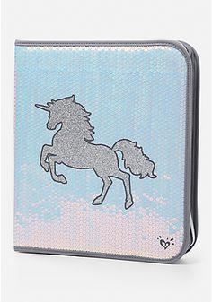 Shimmer Unicorn Binder
