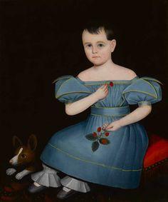 Ammi Phillips(1788-1865)  American Folk Art Museum